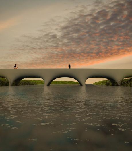 Betonnen brug in Zwanenveld komt uit 3D-printer en is 'langste ter wereld'
