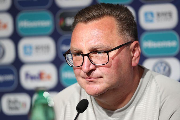 De Poolse bondscoach Czeslaw Michniewicz.