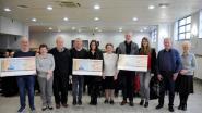 Senioren van Kortenaken schenken geld aan drie goede doelen