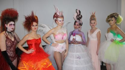 SIMA scoort goed in Young Hairdressers Trophy