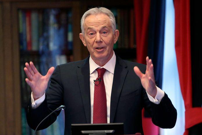 L'ancien Premier ministre britannique Tony Blair en décembre 2019.