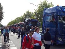 Zondag andere route Truckrun Boxmeer