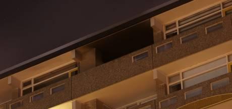Flinke schade appartement door brand Enschede