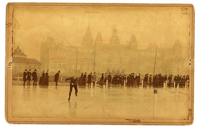 Deze foto is waarschijnlijk rond 1890 genomen. Beeld KPN
