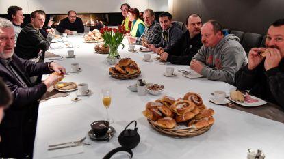Actiecomité viert start aanleg fietspad langs N41 met ontbijtje
