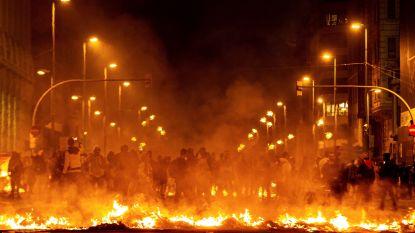 Madrid hekelt geweld tijdens demonstraties in Catalonië