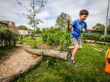 Paasvakantie snel vergeten in De Triangel: kinderen leven zich uit in nieuwe buitenklas