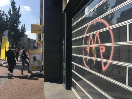 Onbekende graffitispuiter bekladt Dordrecht