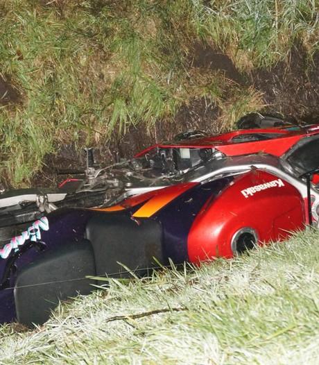 Motorrijder uit Dedemsvaart raakt gewond bij Slagharen