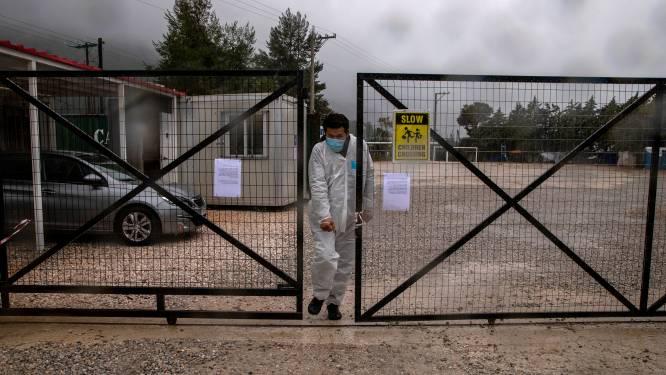 Eerste coronadode in Grieks migrantenkamp