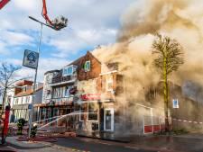 Berry Tra bij vernielde cafetaria Tra in Goirle: 'Een drama, ook personeel stond te huilen'