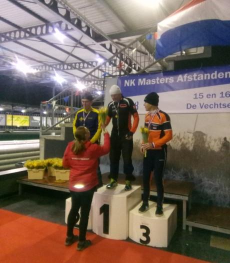 Schaatser Fop Fonteijne Nederlands kampioen bij masters