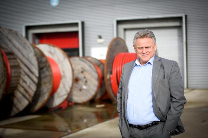 Manager Ton Schuurmans van Enexis.