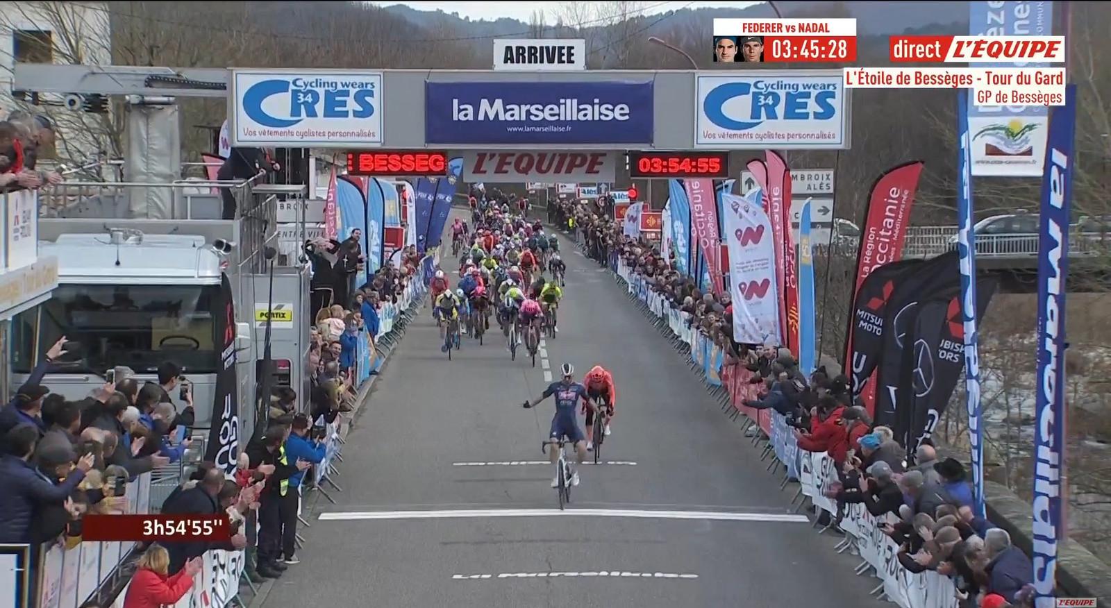 Première victoire  de la saison sur route pour Alpecin-Fenix.