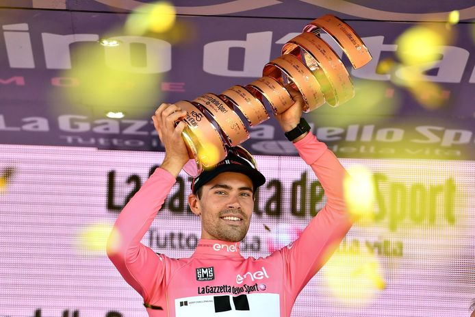 Tom Dumoulin won de Giro in 2017.