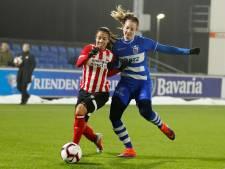 Vrouwen PEC Zwolle redden het ook niet tegen PSV