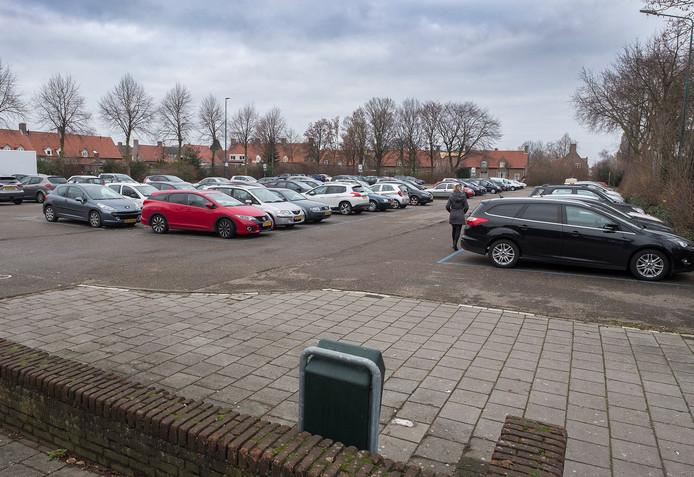 Gratis parkeren vlakbij de winkels is een sterk punt van Drunen, aldus Herman van Herwijnen van stichting Kernmanagement Drunen.