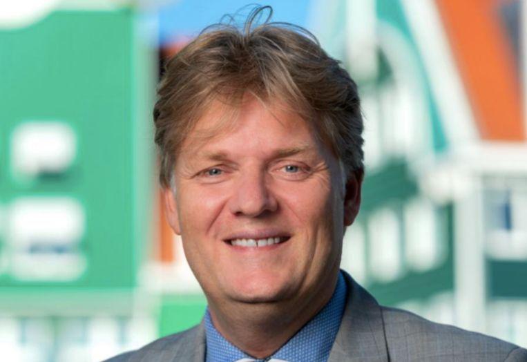 Burgemeester Jan Hamming van Zaanstad. Beeld Gemeente Zaanstad