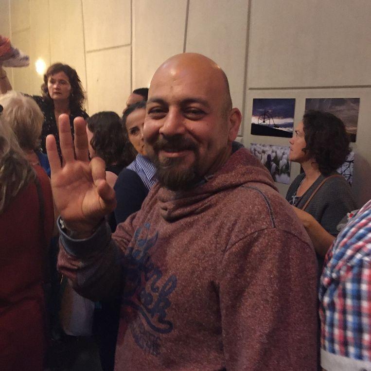 Mohannad uit de Volkskrantserie is ook van de partij. Hij is `oke`. Beeld null