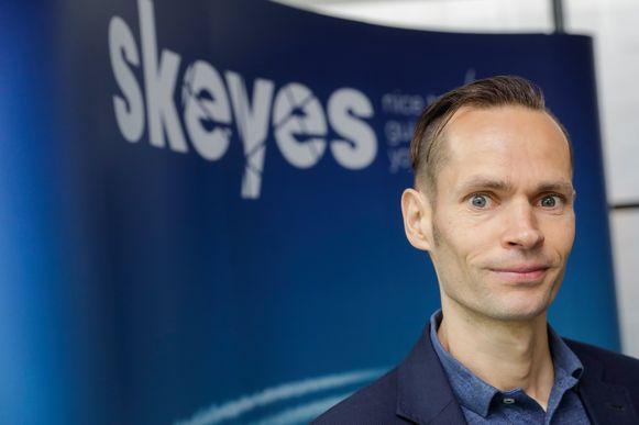 Dominique Dehaene, woordvoerder van Skeyes.