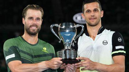 Oliver Marach en Mate Pavic pakken dubbeltitel Australian Open