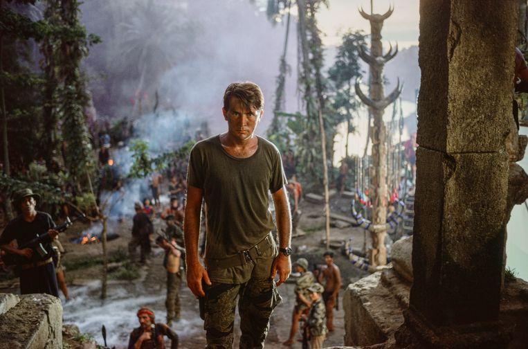Martin Sheen op de set van Apocalypse Now.   Beeld Chas Gerretsen / Nederlands Fotomuseum