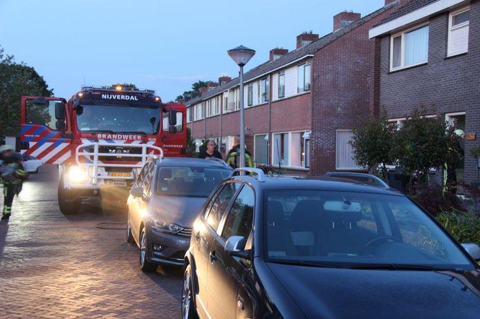 Het gaslek bevindt zich in een hoekwoning aan de Constantijn Huygenstraat.