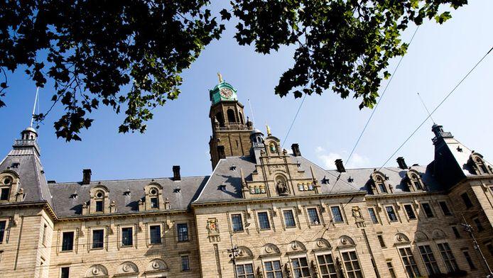 Het stadhuis van Rotterdam