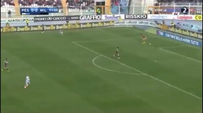 Gedoodverfde opvolger Buffon gaat gruwelijk de mist in bij AC Milan, met tegentreffer tot gevolg