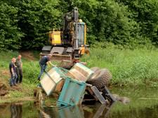 Kantmaaier belandt in de Slinge in Groenlo