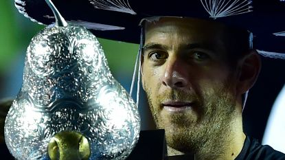 Fabio Fognini boekte zesde ATP-titel -  Del Potro aan het feest in Acapulco