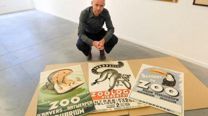 Historische affiches van de Zoo gaan onder de hamer