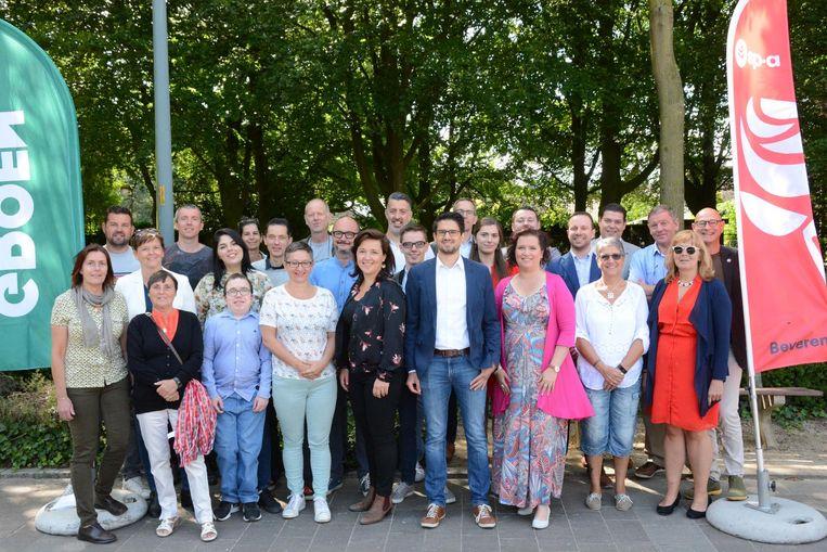 Groen-sp.a stelde afgelopen weekend haar kandidaten voor de gemeenteraadsverkiezingen voor.