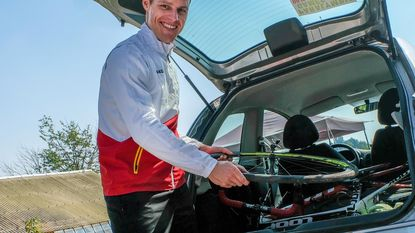 Bosmans aast op medaille op WK baanwielrennen