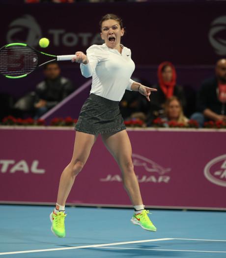 Halep en Mertens naar finale WTA-toernooi in Doha