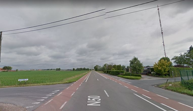 Op dit kruispunt vond het ongeval plaats.