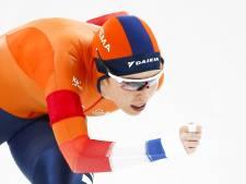 De Jong grijpt net naast de winst op 3000 meter