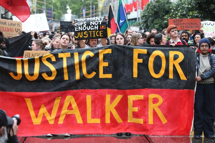 Protesten in Australië.