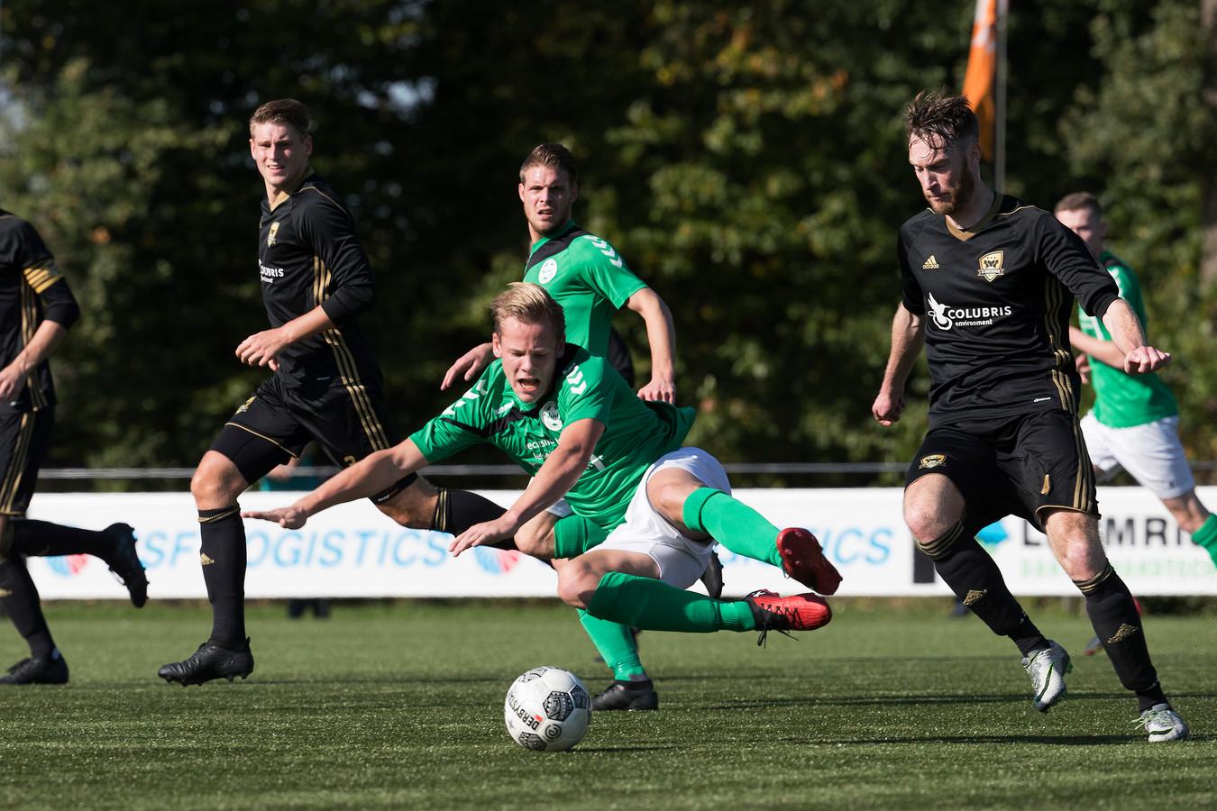 FC Winterswijk kwam in de beker nog niet tot een overwinning. Foto Jan van den Brink