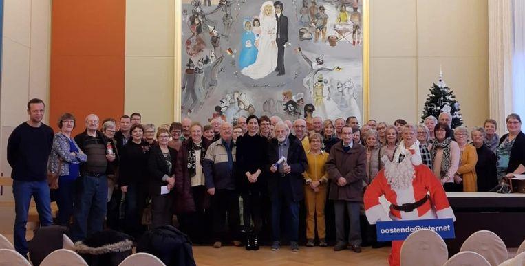 Diploma's Oostende@internet werden uitgereikt