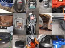 Bier, gereedschap en tassen: verdachte met auto vol gestolen spullen aangehouden in Schijndel