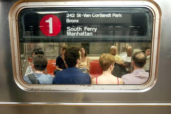 Elke dag nemen 4,3 miljoen mensen de metro in New York.