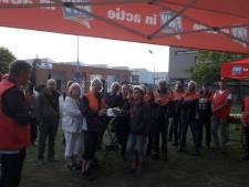 PostNL-ers staken in Den Bosch