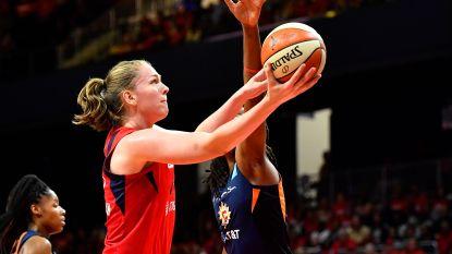 """Emma Meesseman wacht geduldig nieuwe WNBA-seizoen af: """"Me vervelen? Ik schilder de ene muur na de andere"""""""