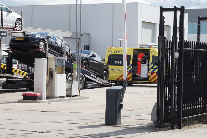 Bedrijfsongeval Waalwijk