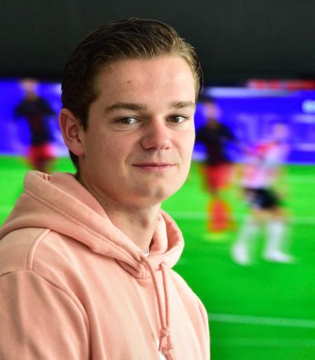 Blessureleed blijft Lorenzo van den Berg (21) achtervolgen