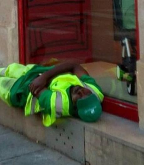 Un nouvel emploi pour l'éboueur viré à cause d'une photo publiée sur Twitter