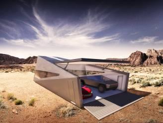 Tesla Cybertruck krijgt nu ook eigen garage: Cybunker