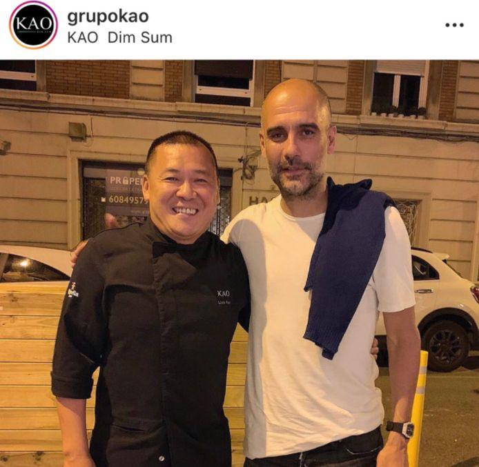 Pep Guardiola werd gesignaleerd op restaurant in Barcelona, genoeg om de geruchtenmolen weer volop te doen draaien.