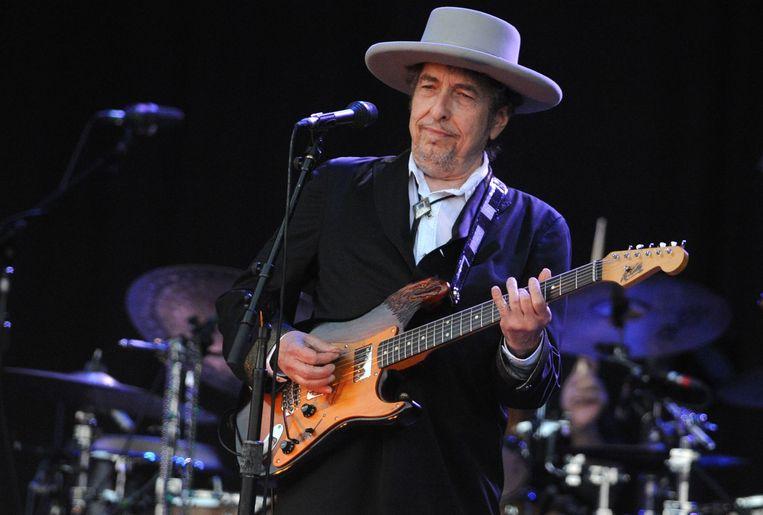 Bob Dylan in 2012 Beeld afp
